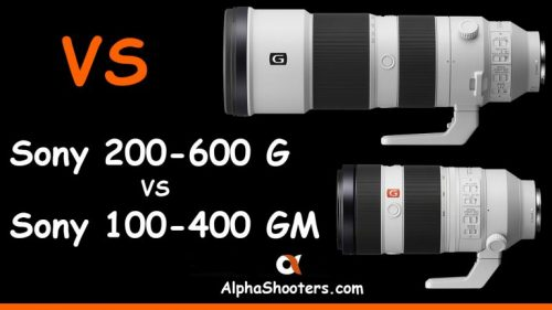 Sony FE 200-600mm F5.6-6.3 G vs FE 100-400 F4.5-5.6 GM Comparison