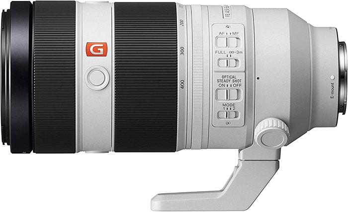 Sony FE F4.5-5.6 100-400mm G Master Lens