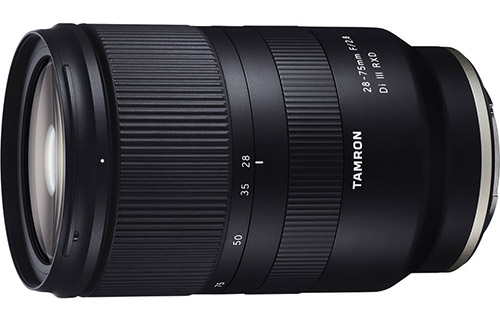 Tamron 28-75mm F2.8 Di III RXD for Sony FE