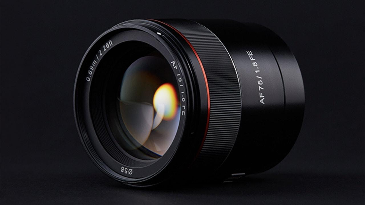 Samyang Announces AF 75mm F1.8 FE Lens