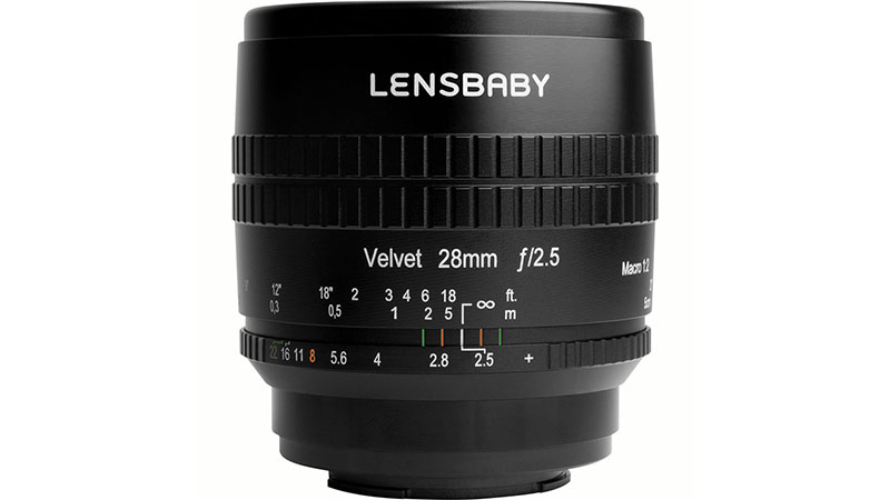 Lensbaby Velvet 28mm F2.5 Lens for Sony E Mount