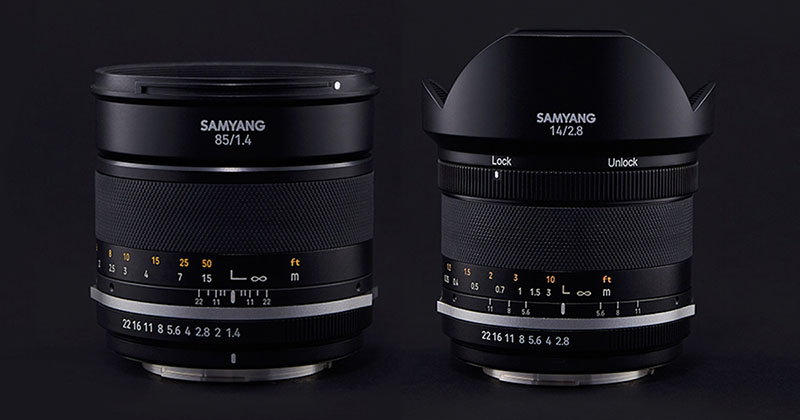 Samyang Updates their 14mm F2.8 and 85mm F1.4 Lenses