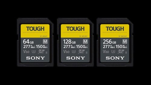 Sony SF-M series TOUGH memory cards