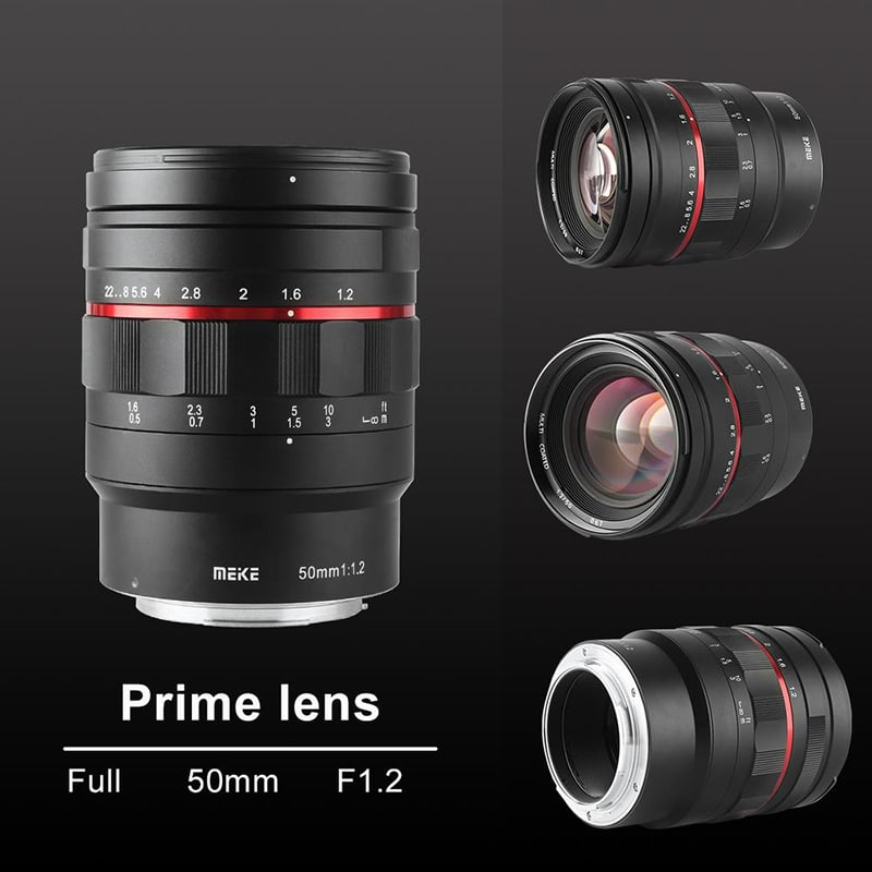 Meike 50mm f/1.2 lens additional shots