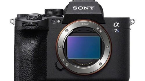 Sony a7S III Image Front