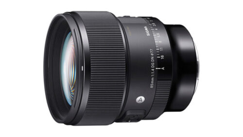 Sigma Announces 85mm F1.4 DG DN Art Lens