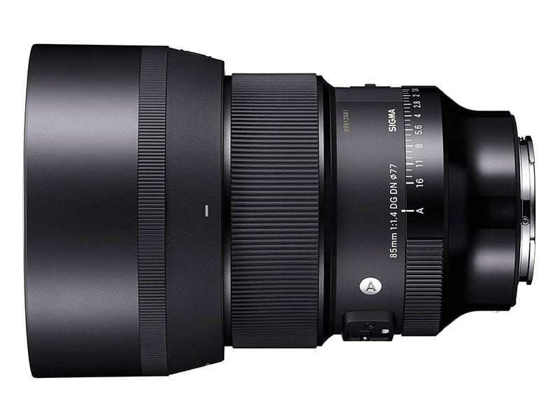 Sigma Announces 85mm F1.4 DG DN Art Lens