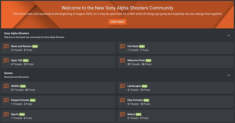 Sony Alpha Forums
