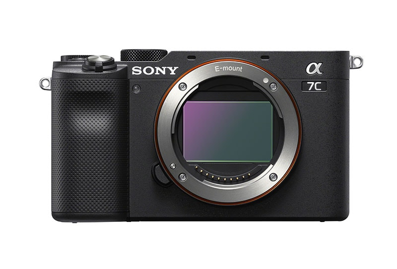 Sony a7C Front Black
