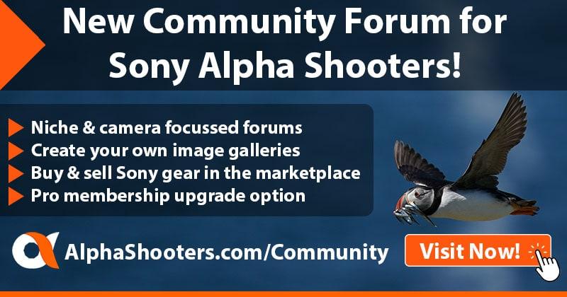 Sony Alpha Shooters Forum