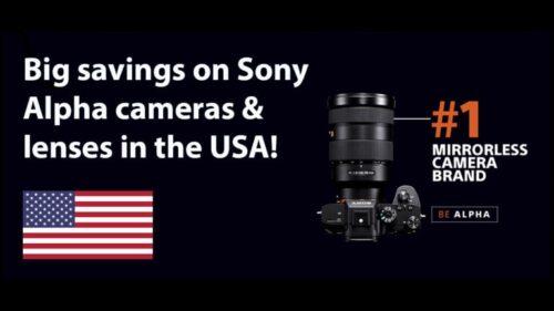 Sony Alpha Deals Oct 2020 USA