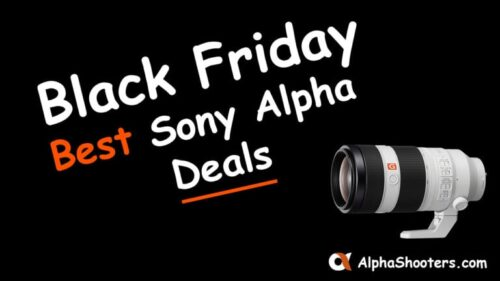 Sony Alpha Black Friday Deals 2020