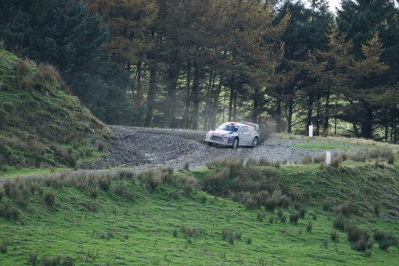 Hyundai WRC taken with Sony a6500 and SEL100400GM Lens
