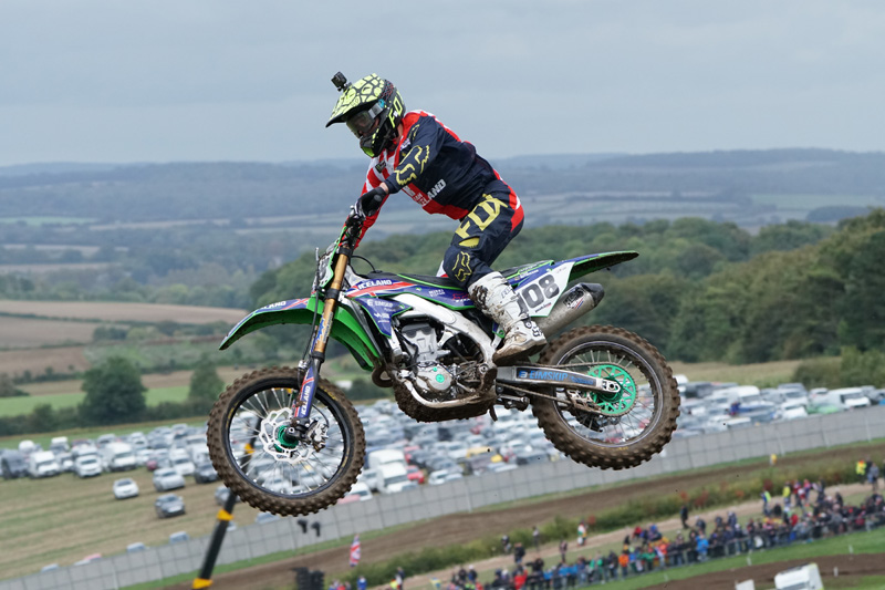 Kawasaki Motocross taken with Sony a6500 and SEL100400GM Lens
