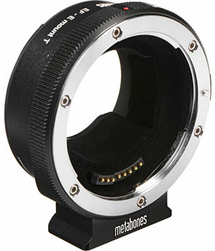 metabones canon ef to sony e-mount lens adapter
