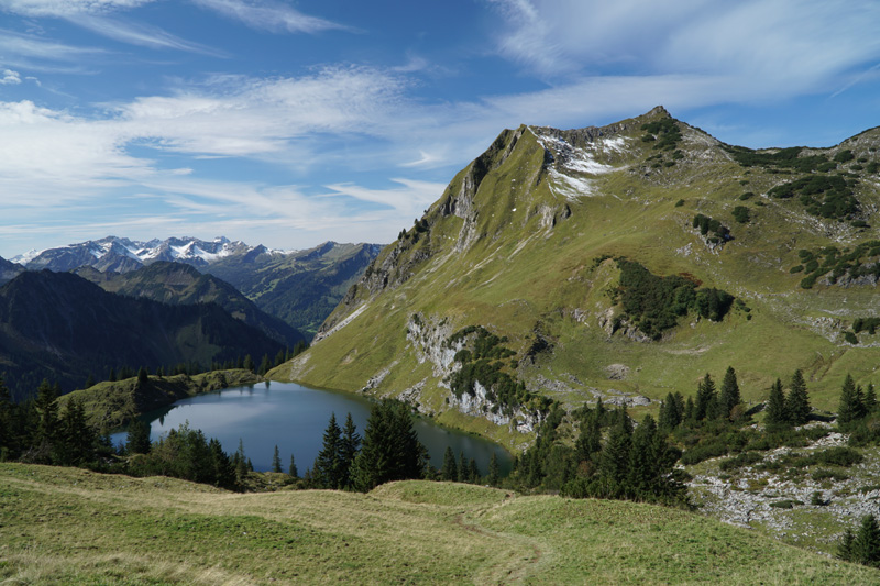 Seealpsee, Oberstdorf taken with Sony a6500 and SELP18105G Lens