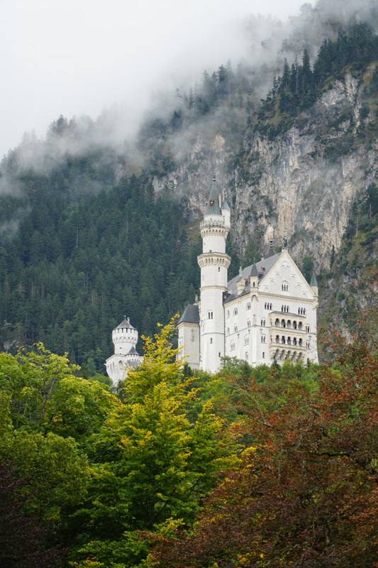 Neuschwanstein Castle taken with Sony a6500 and SELP18105G Lens