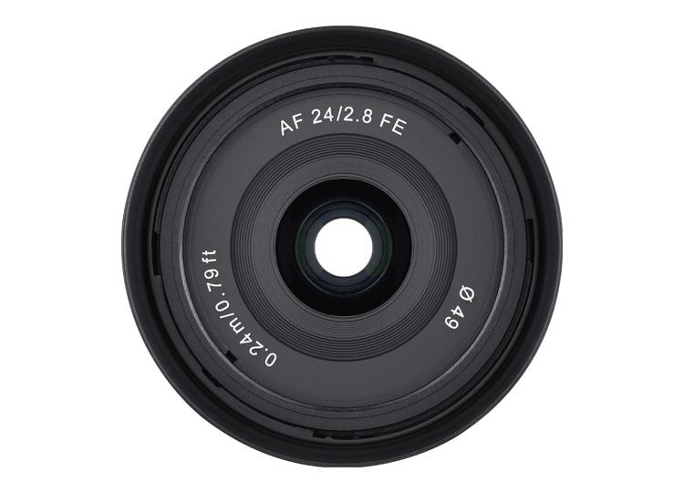 samyang 24mm f28 fe front