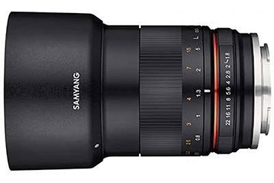 Samyang MF 85mm F1.8 ED UMC CS lens for Sony E-mount