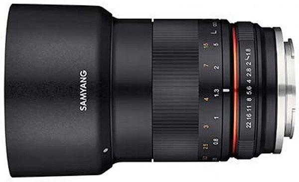 Samyang MF 85mm F1.8 ED UMC CS lens for Sony E-mount