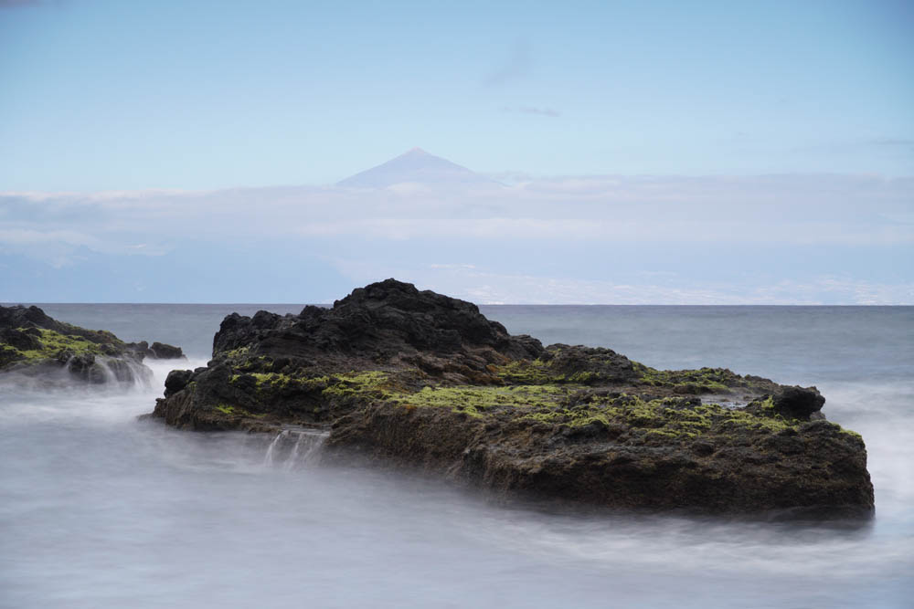 Sony SEL18135 Sample - Mount Teide Seascape