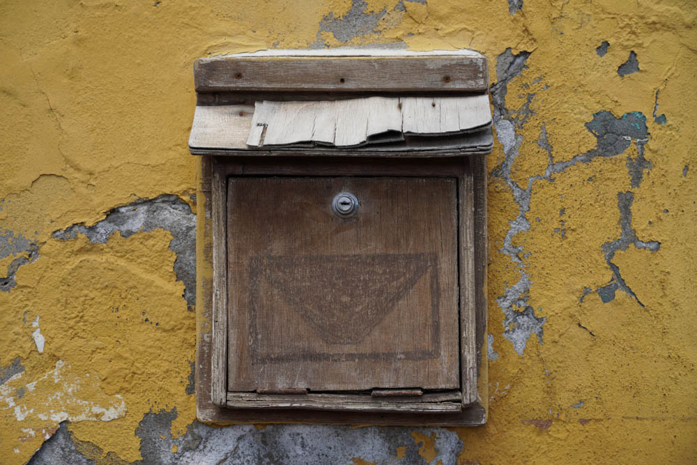 Sony SEL18135 Sample - Letter Box