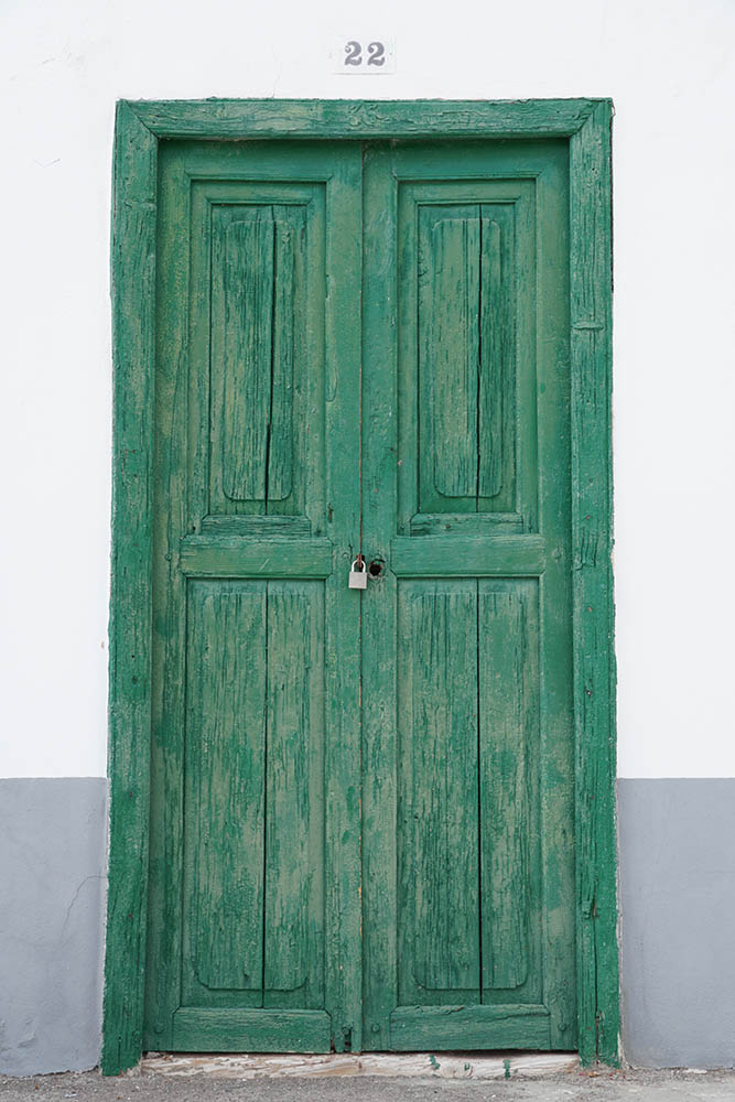 Sony SEL18135 Sample - Wooden Door