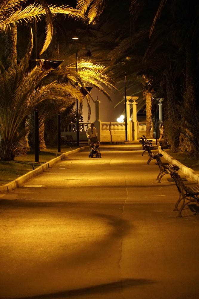Sony SEL18135 Sample - Playa de las Americas Tenerife at Night