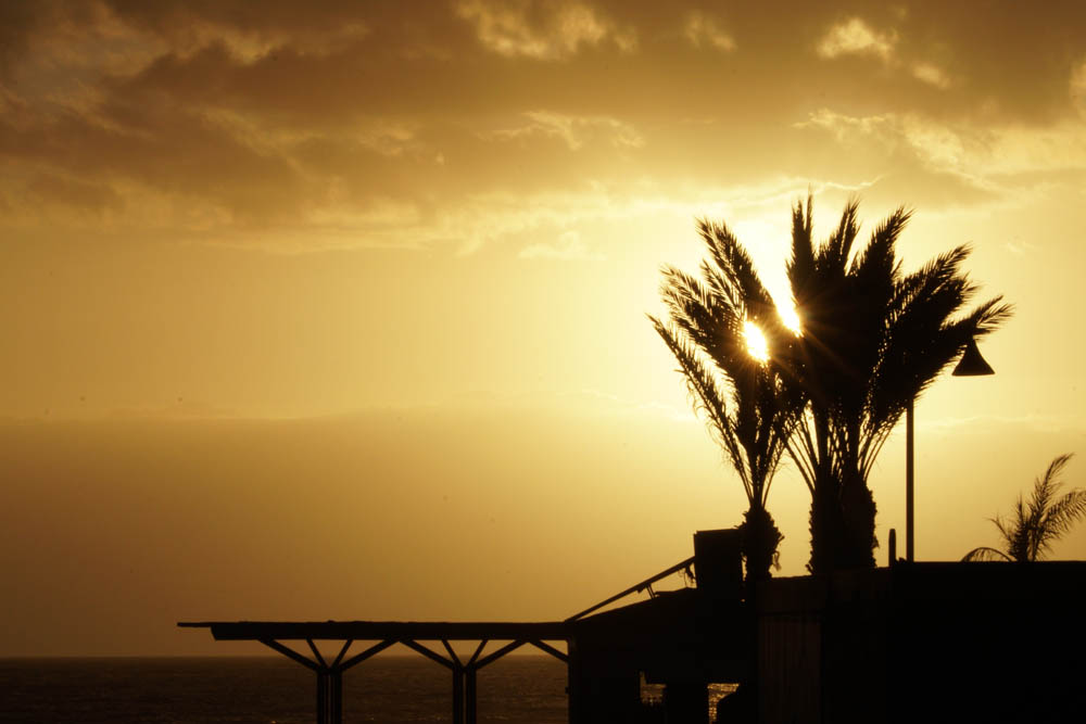 Sony SEL18135 Sample - Playa de las Americas Tenerife Sunset