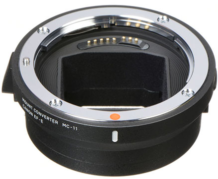 sigma mc-11 canon ef to sony e-mount lens adapter