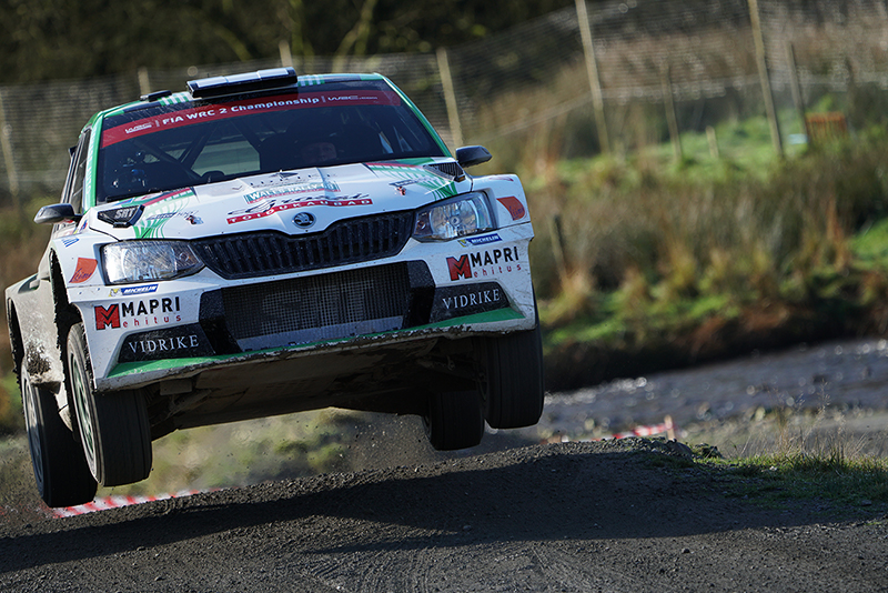 Skoda SRT WRC taken with Sony a6500 and SEL100400GM Lens