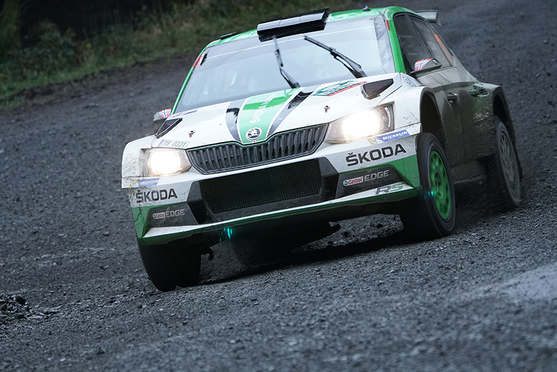 Skoda Woods WRC taken with Sony a6500 and SEL100400GM Lens