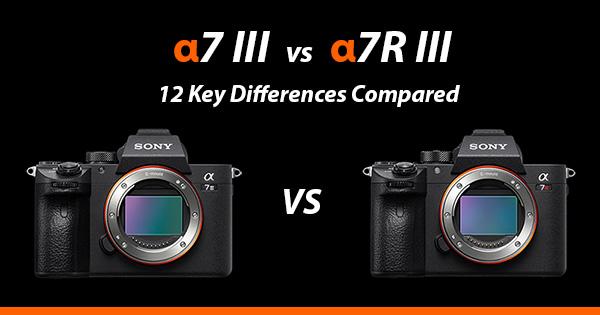 Sony a7iii vs a7riii