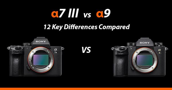 Sony a7iii vs a9