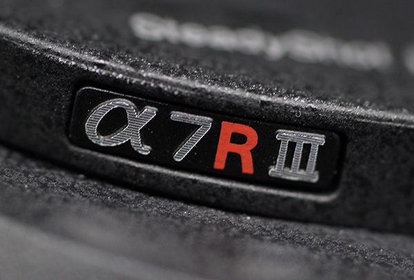 Sony a7R III Logo