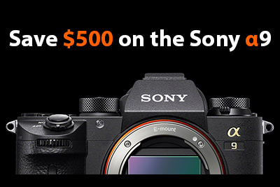 sony a9 save $500