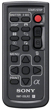 sony rmt-dslr2 remote for sony a7iii