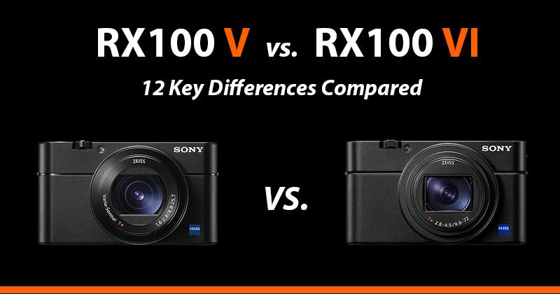 sony rx100v vs rx100vi